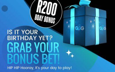 Birthday Bonus